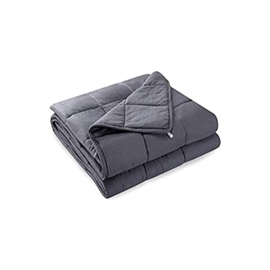 ウェイトブランケット 加重ブランケット 153cm×203 cm 重力布団 7kg  掛き布団  圧力ブランケット 不眠症対策 快眠
